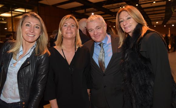 40. Virginie Adnet (OL Média), Corinne Sassot (Le Progrès), Jean-Louis Joly, DG du Medef Lyon-Rhône et Nathalie Degardin (Le Progrès)