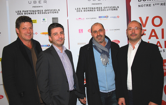 4. Marc Fuga, Christophe Chabry, Guy Antonio et Jean-Michel Poncet (Sylver Valley)