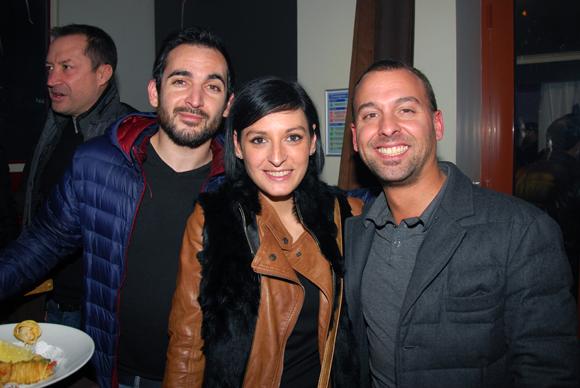 5. Didier Lacouture (L'Axe), Aurélie et Maxime Lavorel (L'Horloge)