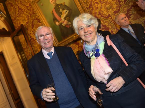 5. Philippe Brossette, président de la fondation Berliet et son épouse Victoria