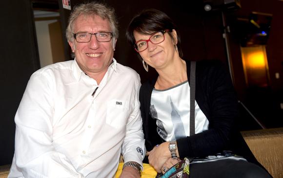 6. Pascal Ogier (Smac) et son épouse Sylvie (Cypath)