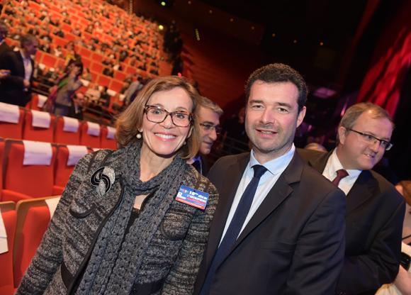 7. Laurence Eymieu, directrice régionale SNCF et Franck Morize (CGPME)
