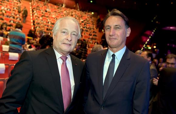 9. Jean-François Roubaud, ancien président de la CGPME et christophe Gruy, président du Groupe Maïa