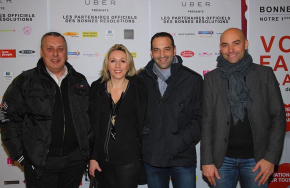 9. Patrick (Chocolats Sève), Marjorie Martins, Laurent Martins et Franck Wilb (Neo Immobilier)