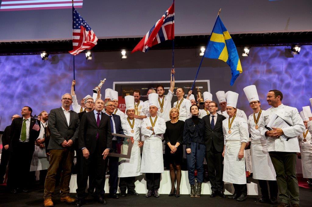 Le Bocuse d'Or 2015 dans les filets de la Norvège