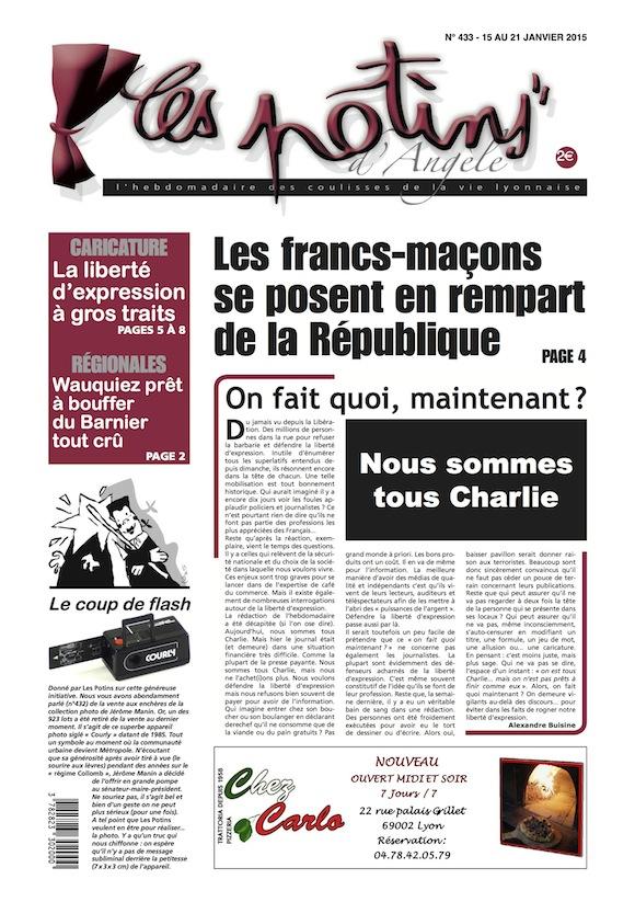 Le numéro hommage des Potins à Charlie Hebdo zappé par les distributeurs de presse
