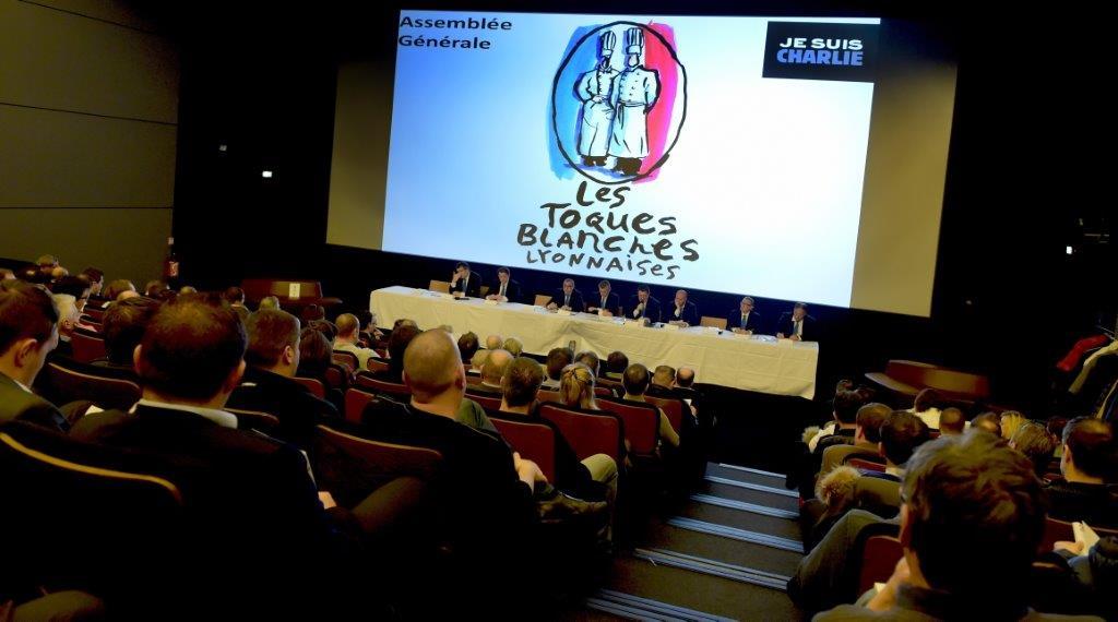 Toques Blanches Lyonnaises. La Comedia del Arte