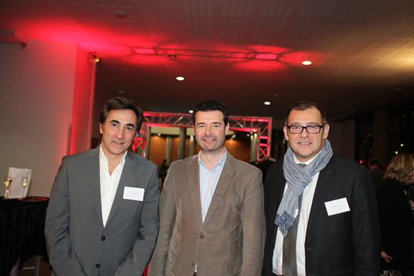 14.Yves Blehaut (Gravity Europe), Franck Morize (CGPME) et Hervé Champalle (Solendi)