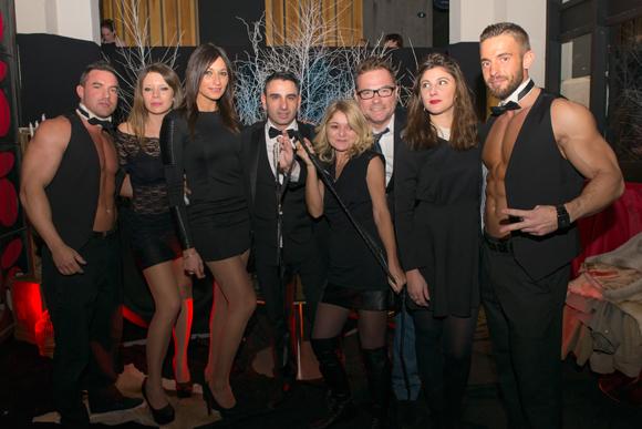 13. Aaron, Stéphanie, Myriam (Century 21), Eric Macri (Selcius), Karinne (Studio Le Carré), Pierre Yves Gas (Proxi'Com), Laurie (Le Carré) et Tylor