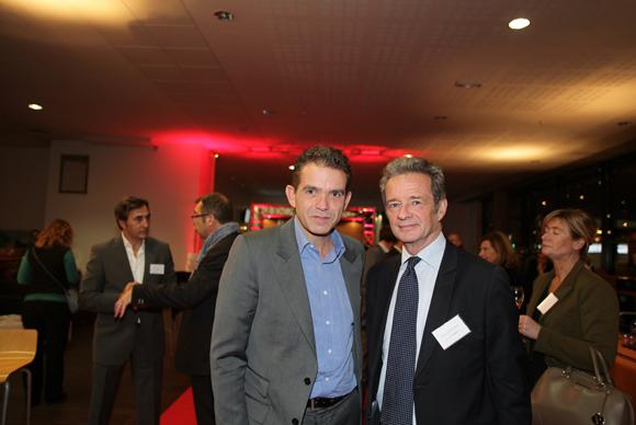 17.Pascal Petit (Idrac) et Thierry Bourgeron (GL Events)