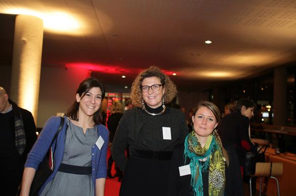 18.Julie Verles (Page Personnel), Estelle Perchere (Sub de Com groupe Idrac) et Lucile Magnoler (Mairie du 2°)