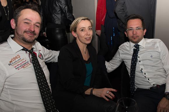 19. Franck Durand (BAES), Virginie Tourte et Régis Rodriguez (Ambiprocess)