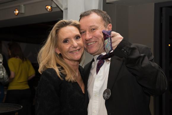 22. Brigitte Millara et Michel Delporte (consultant informatique)