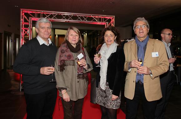 3. Yvon Bacquer (SNCF), Marie-Claude son épouse (Opcalia), Evelyne Leyendecker (Opca Defi) et Antoine son époux (International)