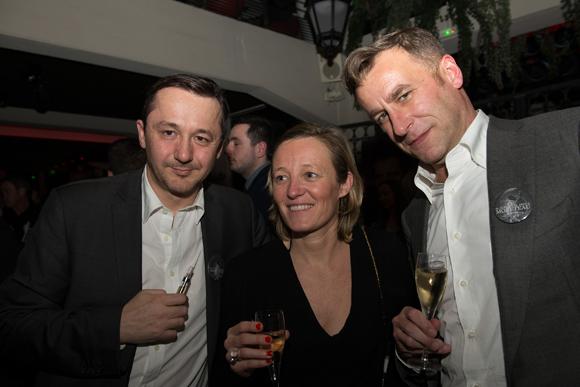 31. Christophe Amande, Amélie Mercier et Hugues Bartnig