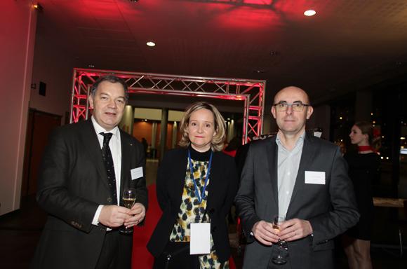 4. Léon-Michel Sester (La Banque Postal), Virginie Lacroix-Altuna (Idrac) et Yves Lebastard (Toutpargel)