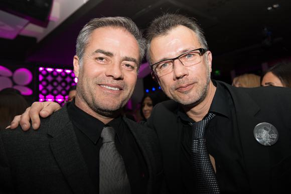 38. Vincent Morel (LEVM échafaudage) et François Buthurieux (ABA)