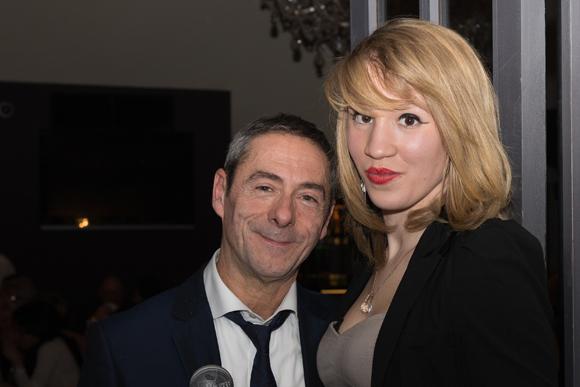 5. Patrick Maréchal (photographe) et Mina