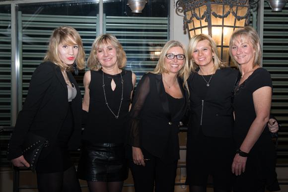 6. Mina, Corinne Berthaud, Flora De Bellini (Boutique De Bellini), Valérie Aubrun et Cathy Loeuillet