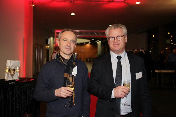 8. Bertrand Collongy (Honeywell) et Nicolas Reymond directeur de l'Idrac Alumni
