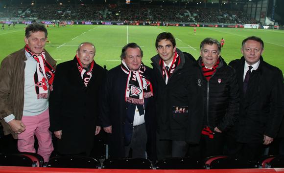 Les tribunes VIP de LOU Rugby – Toulon
