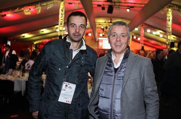 10. Franck Roulin (Livewall) et Philippe Montanay (Maniac Media)