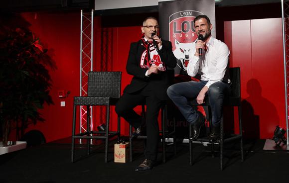 1. Jean-Paul Jacquet (LOU Rugby) et Jean-Loup Rogé (Segeco)