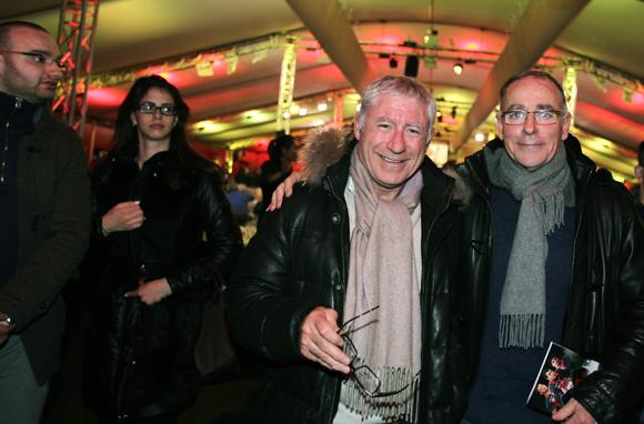 11. Denis de Bénazé (IDRAC) et Luc Lapasset (Total)