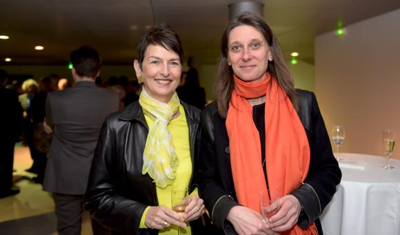 12. Thérèse Rabatel, adjointe à l'égalité des femmes et Claire–Lise Niermarechal (Ville de Lyon)