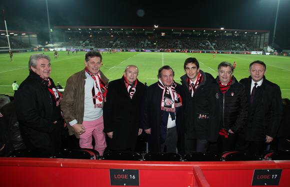 12. Richard Brumm, Nicolas de Tavernost, Gérard Collomb, Olivier Ginon, Yann Roubert, Guy Mathiolon et Thierry Braillard