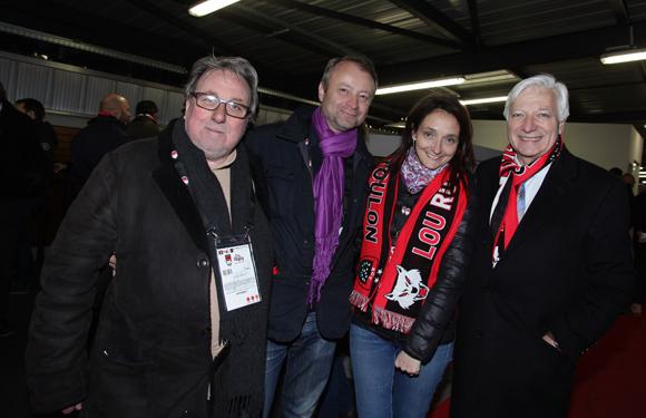 13. Jean-Marie Nauleau, Marco (Lyon People), Laure-Marine Godet (Apave) et Marc Fraysse (Cofely GDF Suez)