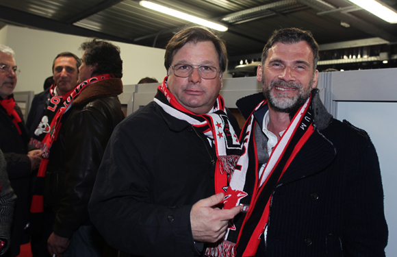 14. Franck Isaac-Sibille (LOU Rugby) et Jean-Loup Rogé (Segeco)