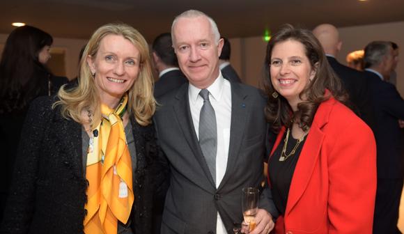 15. Delphine André (Charles André), Guy Sidos et son épouse Sophie (Vicat)