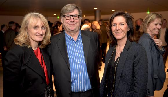 16. Marie-Laure Reynaud, les docteurs Jean Renaudin et Jacqueline Ginon