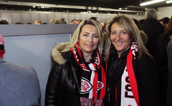 16. Corinne Paris (Assurances Paris Gerbaud) et Catherine Arbaud (LOU Rugby)
