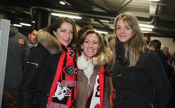 23. Nathalie Alphonse, Christel Patet et Sophie Bouyer
