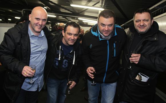 25. Hervé Martinien, Stéphane Michelet (Loxam), Antony Flamand (Compagnie Nationale du Rhône) et Bruno Charière (Loxam)