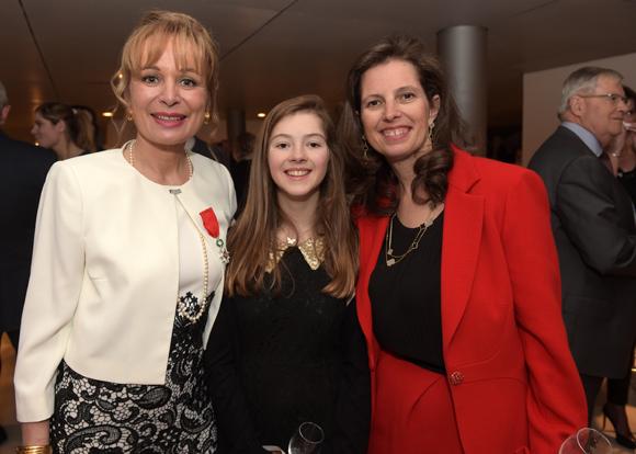 28. Isabelle Bernard, Astrid et sa mère Sophie Sidos-Vicat (Vicat)
