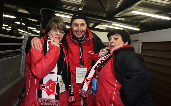 28. Christine, Patrice et Myriam (LOU Rugby)