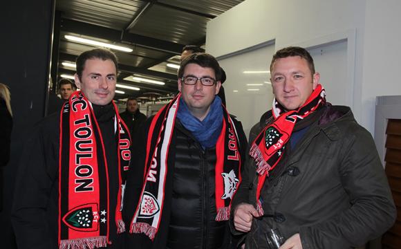29. Benoit Gitton, Bertrand Madamour (Eiffage) et Christophe Astruc