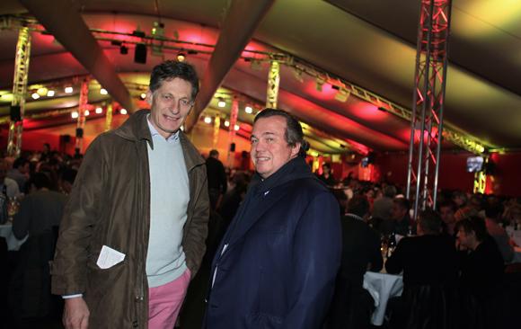 3. Nicolas Tavernost, président de M6 et Olivier Ginon président de GL Events
