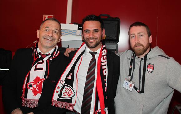 5. Jean-Paul Jacquet, Arthur Maleo et Mike (LOU Rugby)