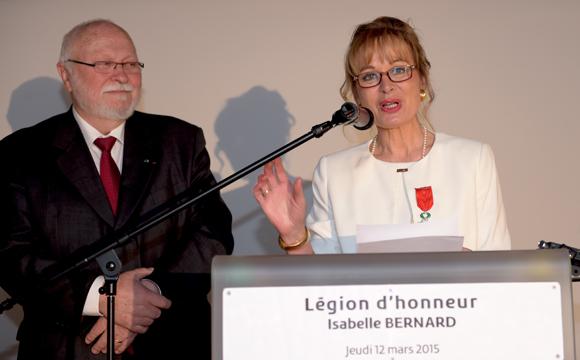 6. Les remerciements d'Isabelle Bernard