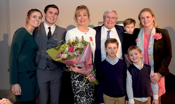 7. Isabelle Bernard et sa famille
