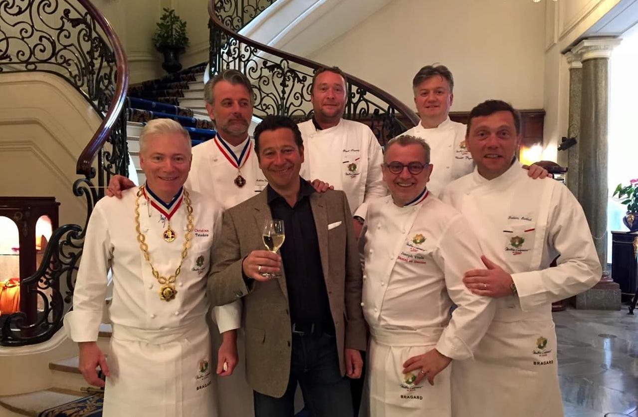 Laurent Gerra, star du Congrès des Maitres Cuisiniers de France à Biarritz