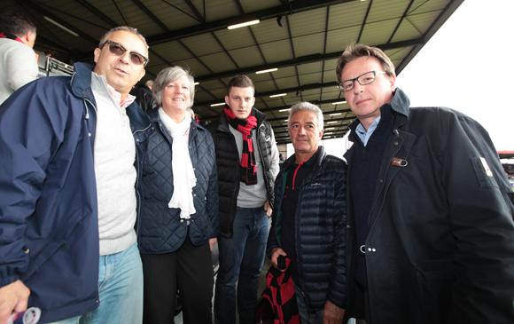 Les tribunes vip de lou rugby bordeaux for Chambre des notaires du rhone