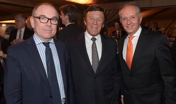 11. Yvon Léa (Banque Rhône-Alpes), Guy Chifflot (Orapi) et Eric Vernusse (Banque Rhône-Alpes)