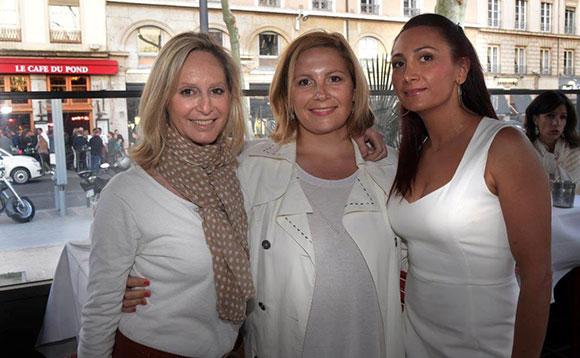 11. Catherine Ricard (CGPME), Sandrine Perrot et Kamélia Pourzand (Expert'Air)