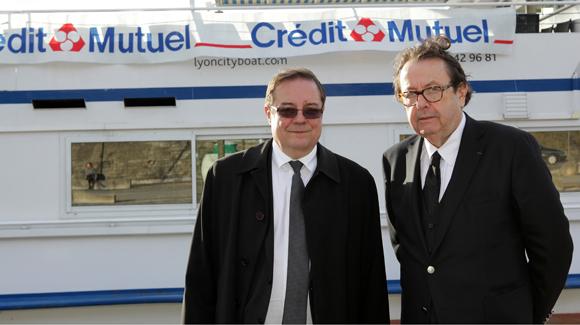1. Philippe Maisoneuve, directeur et Philippe Vorbuger, vice-président du Crédit Mutuel Maréchal Lyautey