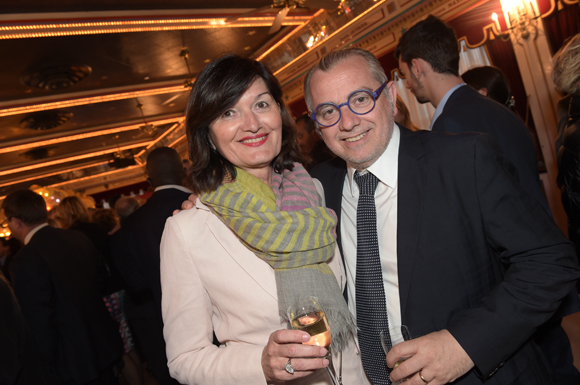 12. Le chef Joseph Viola et son épouse Françoise (Daniel & Denise)